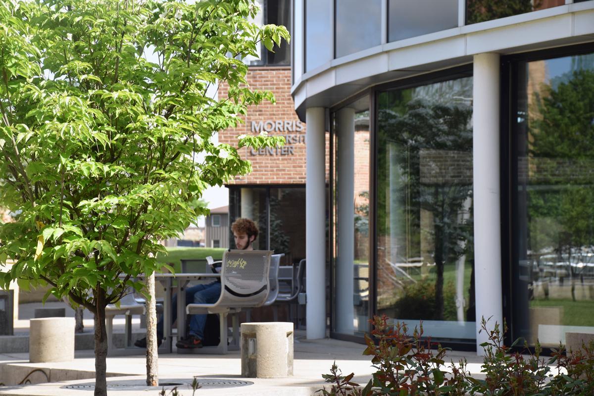 Morris University Center entrance