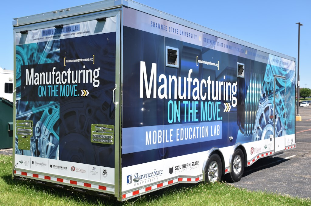 Manufacturing on the Move Trailer