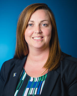Photo of Alumni Assistant Director Kara Stump
