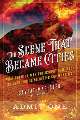 "Book cover for ""The Scene that Became Cities"""