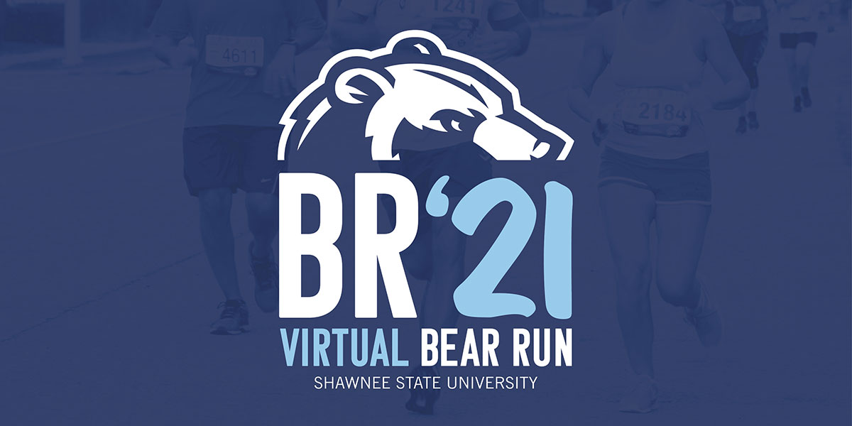 """Graphic with the text """"Virtual Bear Run"""""""