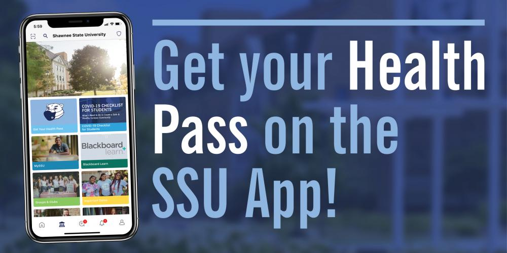 Get your Health Pass on the SSU App