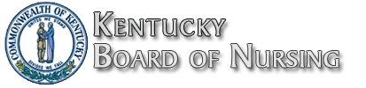 Kentucky Board of Nursing logo