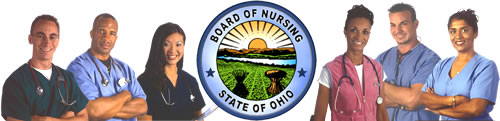 State of Ohio Board of Nursing logo