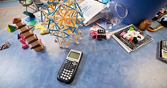 Tools to be used in a math laboratory