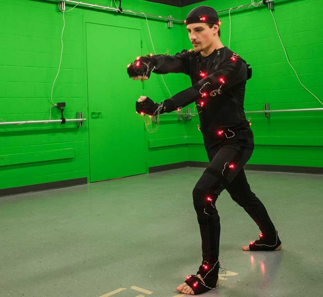 Motion Capture Studio Lab