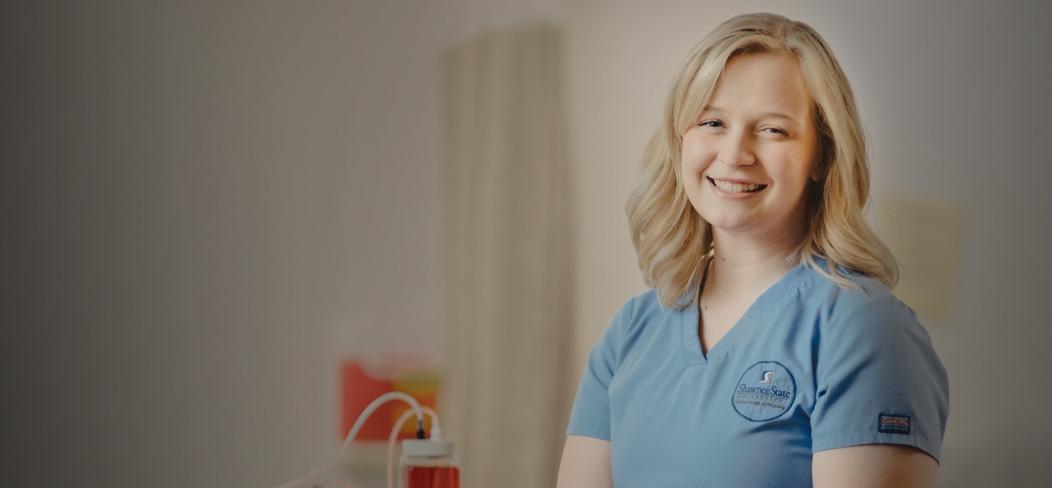 SSU Nursing student Jana Stockham