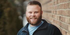 photo of Eric Boggs smiling