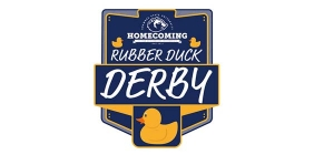"""Graphic with the text """"Rubber Duck Derby"""""""