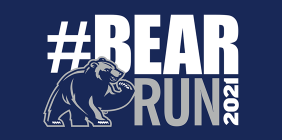 """graphic with the text """"Bear Run 2021"""""""