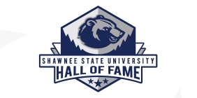 """Graphic with the text """"SSU Hall of Fame"""""""