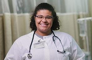 SSU Nursing student